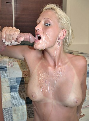 Free Cum on Moms Tits Porn Pictures